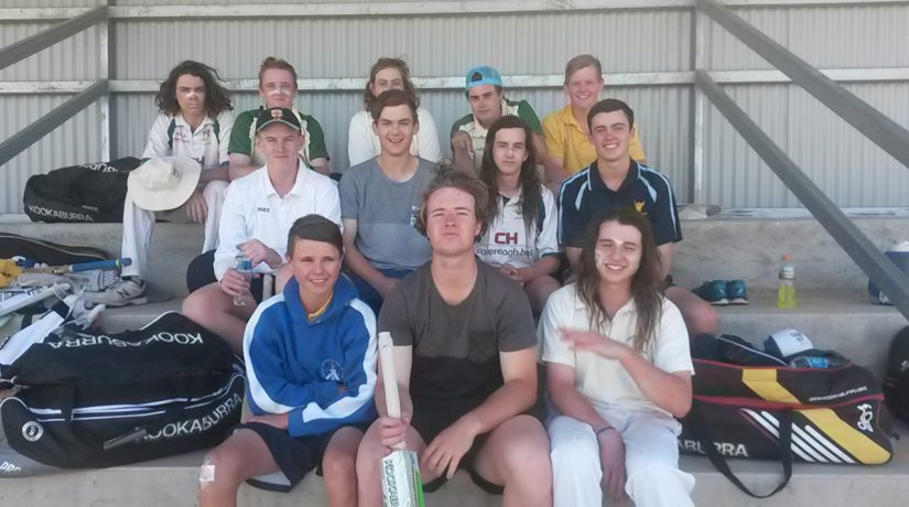 Open Boys Cricket side defeats St Francis Leeton