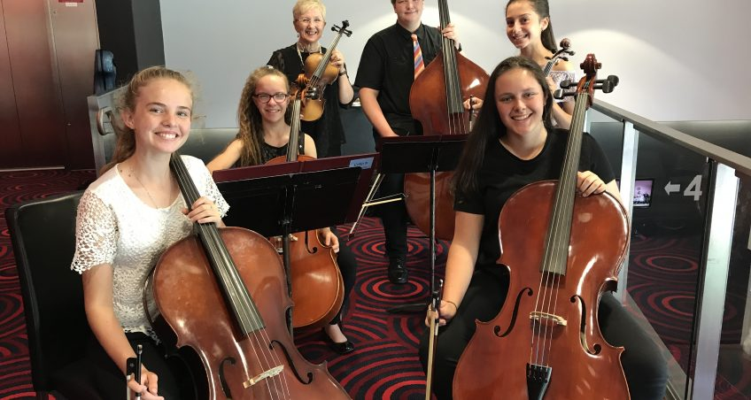 Strings Ensemble Perform at Regional Theatre
