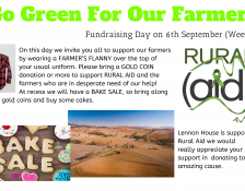 Going Green for our Farmers