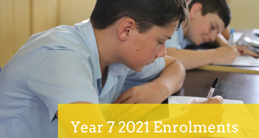 Enrolments 2021