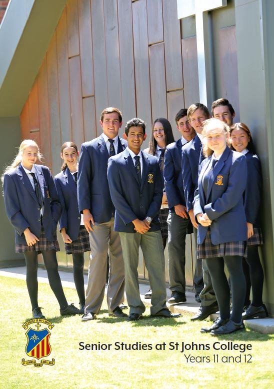 Senior Studies at St Johns College