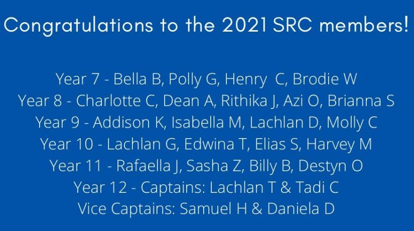 2021 SRC Members