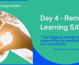Day 4- Remote Learning at SJC